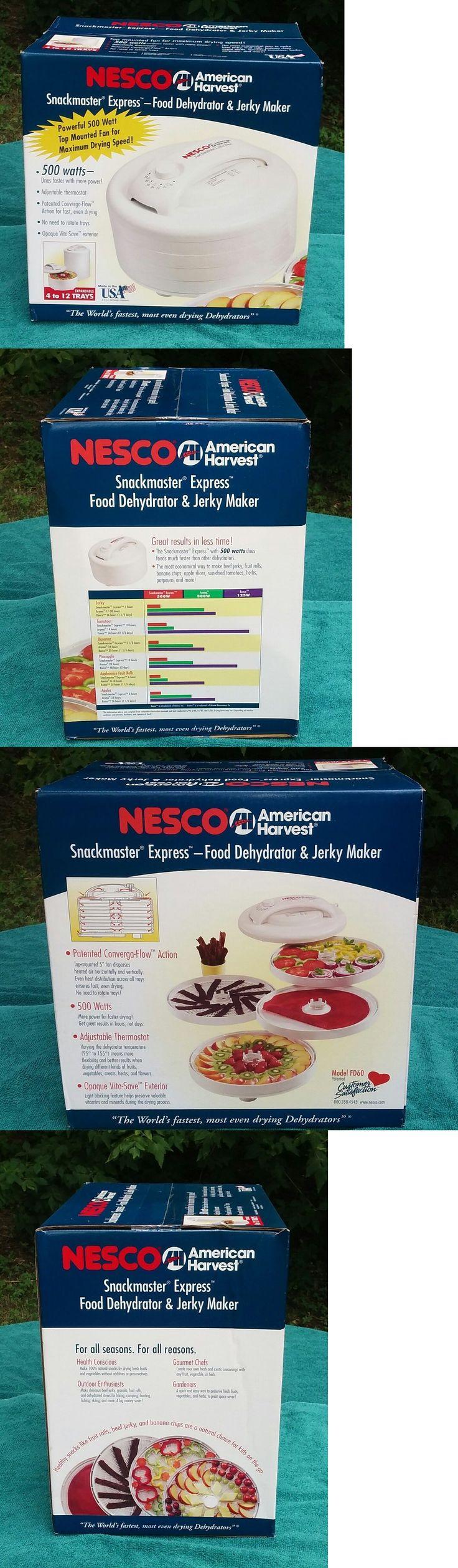 Food Dehydrators 32883: Nesco American Harvest Food Dehydrator And Jerky Maker New -> BUY IT NOW ONLY: $49.99 on eBay!