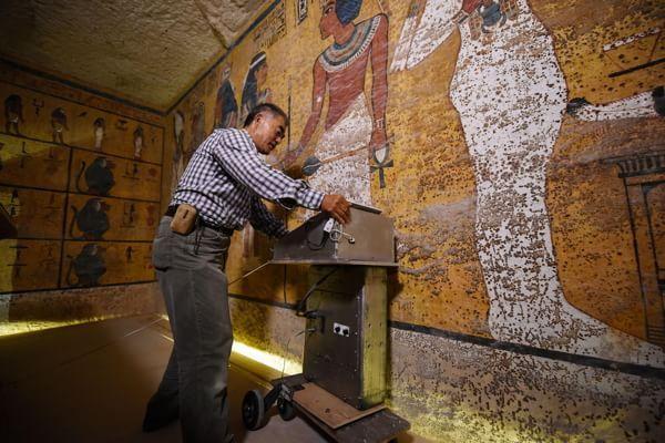 Tomba di Tutankhamon, dal radar la conferma della camera segreta