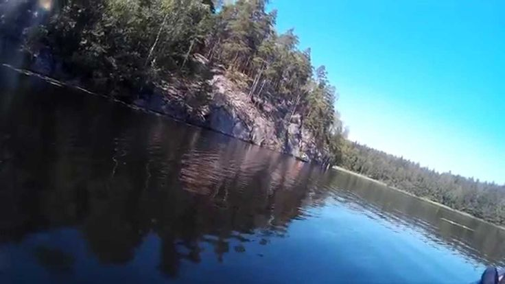 Nuuksio national park canoeing adventure