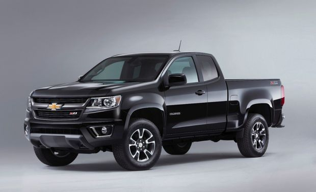 The new 2015 #Chevy #Colorado pictures just released!