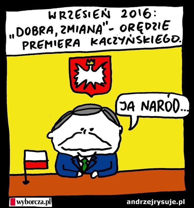 10.01.2016 - Andrzej Rysuje | Prognoza na wrzesień - Andrzej rysuje