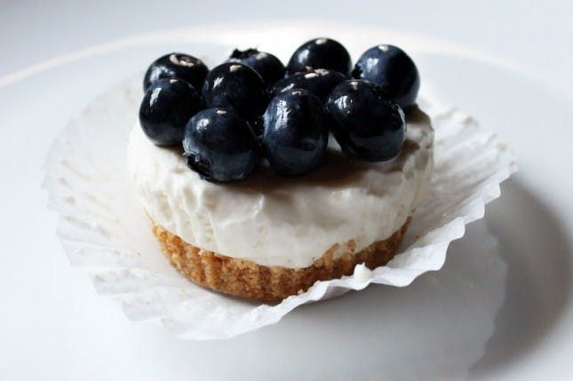 No Bake Blueberry Cheesecake Cupcakes Recipe No Bake Blueberry