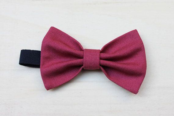 Bow tie  Pre tied  hand sewing  vintage fabric by ScoccaPapillon, €18.00