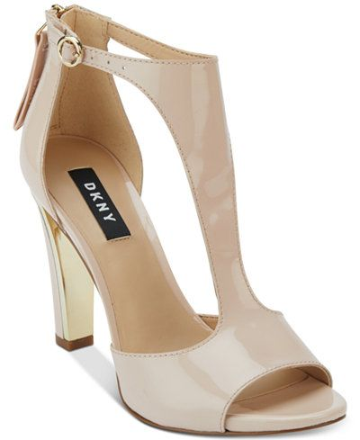 2c0ab8e8d7a DKNY Colby T-Strap Sandals