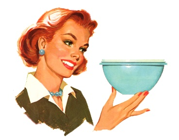 The Tupperware Lady...I used to e a Tupperware lady!! It was FUN!!  Love Tupperware and enjoyed selling it, too.