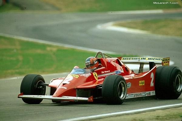 Gilles Villeneuve - Ferrari - Imola, Italian Grand Prix