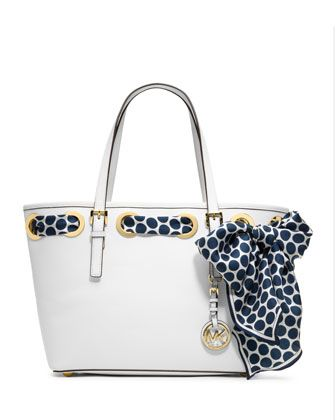 MICHAEL Michael Kors  Small Jet Set Scarf Tote.