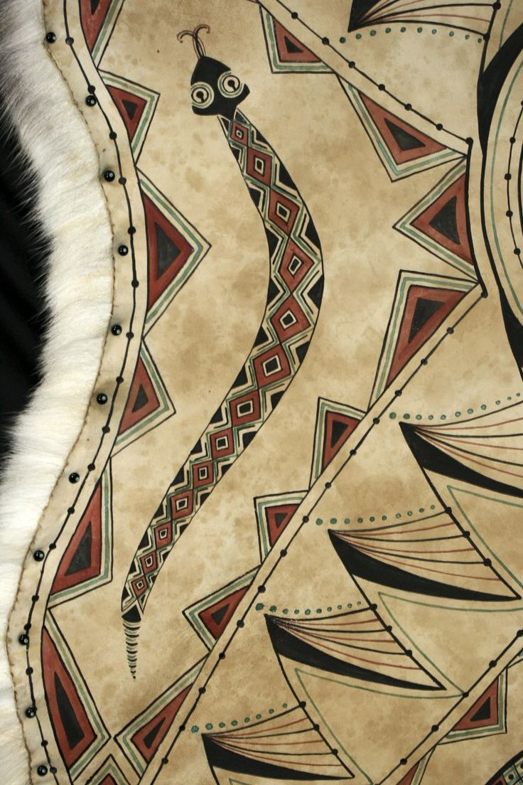 48 best Buffalo Hide Art images on Pinterest | Native american ...
