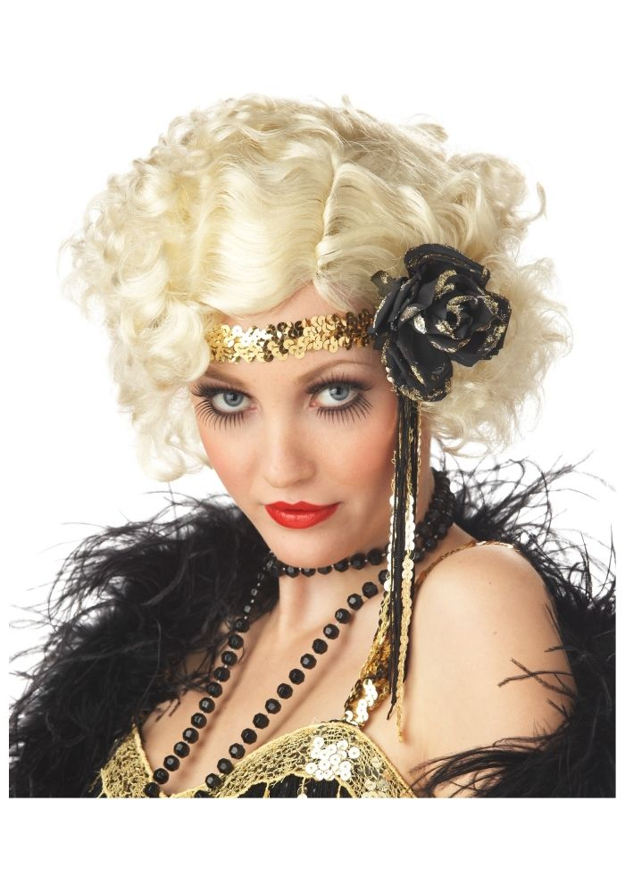 Flapper Hairstyles art nouveau flapper headband in silver style 109 1920s Hairstyles Updo Google Search