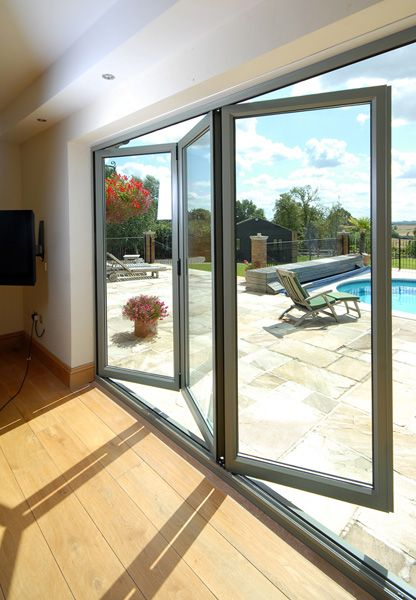 Aluminium Bi-Folding Doors | EYG Windows and Doors