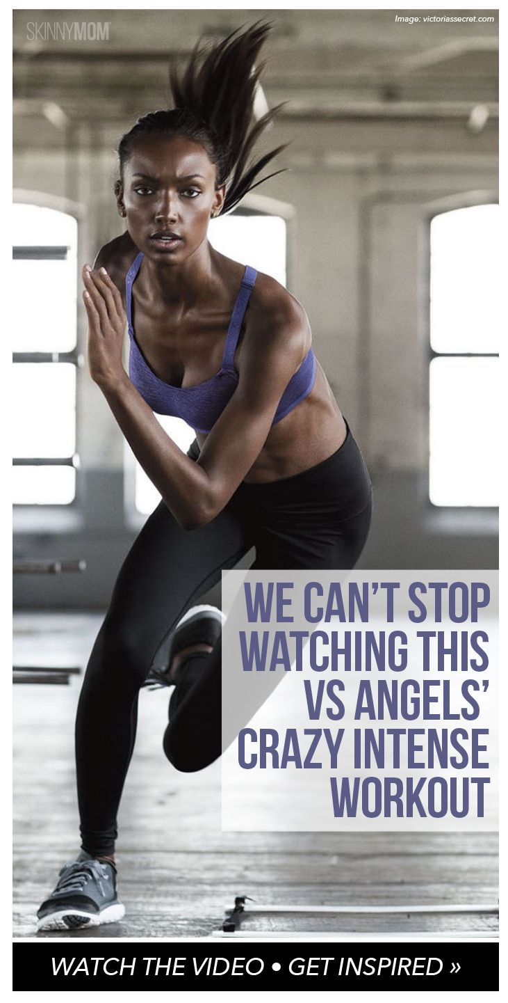 We can't stop watching this Victoria's Secret Angels' crazy intense workout to get runway ready!