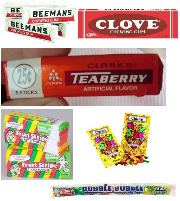Beemans, Clove, Teaberry #chewing gum - oldies but goodies