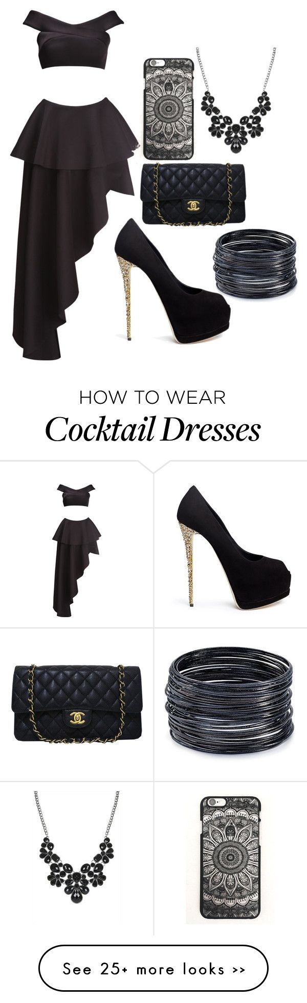 """""""UNTITLED # 118"""" by arianagrande1230 on Polyvore featuring Fame & Partners, Giuseppe Zanotti, Chanel and ABS by Allen Schwartz"""