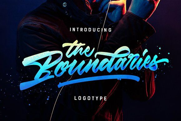 BOOM!! The Boundaries - Logotype by Dirtyline Studio on @creativemarket