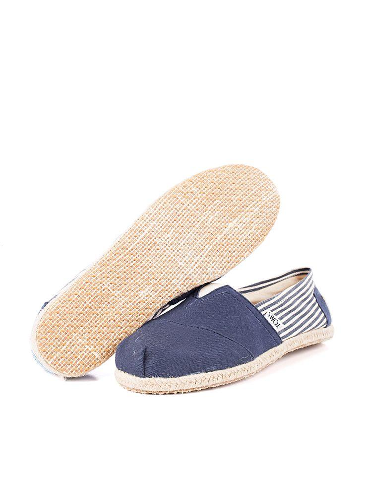 Visítanos en www.clickonero.com.mx... ... Camina con estilo... #fashion #moda #zapatos #tenis #calzado #alpargata #toms #azul #marinero #rayas