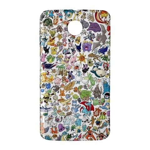 Pokemon Gotta Catch em All Google Nexus 6 Case Cover Wrap Around