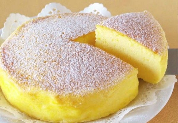 "The Whole World Is Crazy For This ""Japanese Cheesecake"" With Only 3 Ingredients! - Afternoon Recipes"