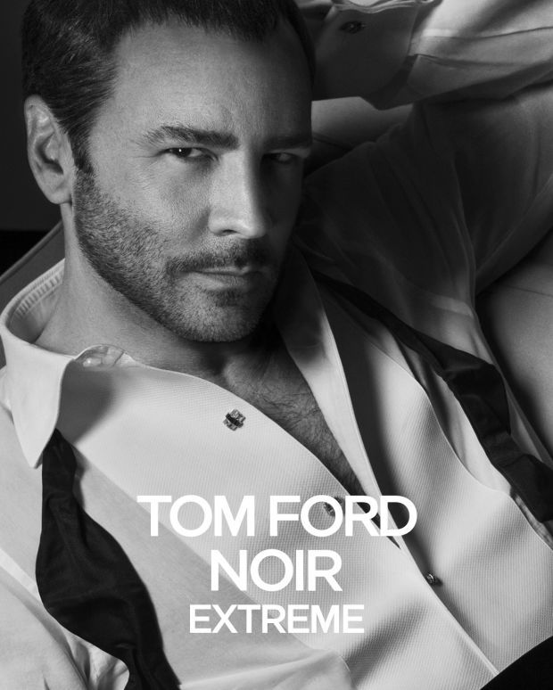 American designer Tom Ford fronts the campaign of his upcoming fragrance Tom Ford Noir Extreme. The designer was photographed by Inez & Vinoodh for the new black & white advertisement. A far stretch from Ford's racy campaign images of the past, Ford serves up a classic black tie undone image. The fragrance makes its debut May ...