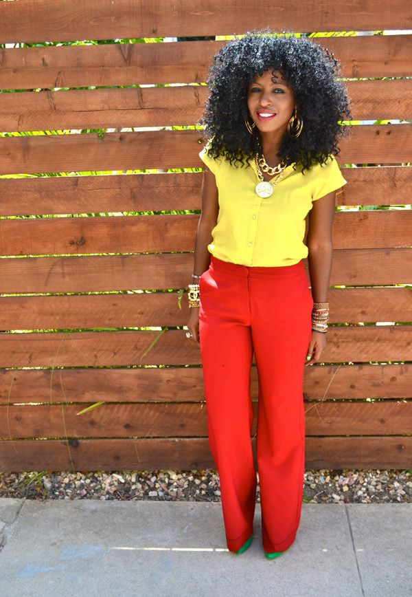 Goodness I love this woman's style @Style Pantry