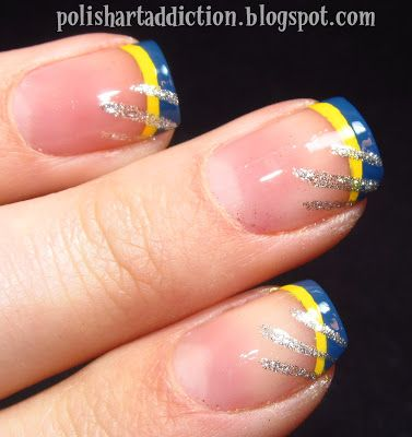 *snicky snicky snarl* subtle Wolverine French tips. Love this.