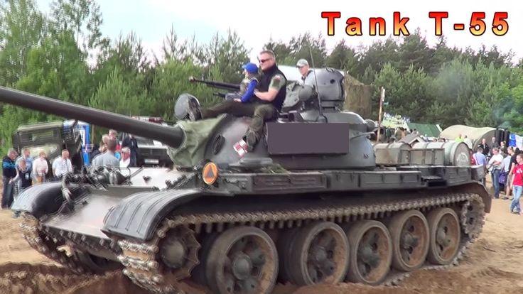Tank T - 55 inside