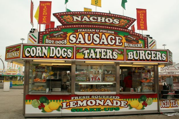 state fair food booth. no state fair would be complete w/o them :)