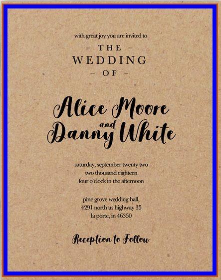 10+ Wedding Invitation Templates Word, Excel  PDF Templates www