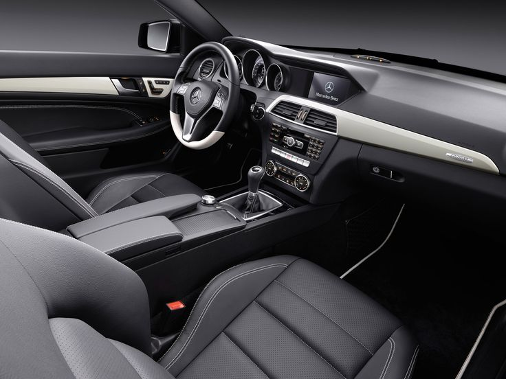 2012 Mercedes C Class Coupe C250 CDi, car, dashboard, interior