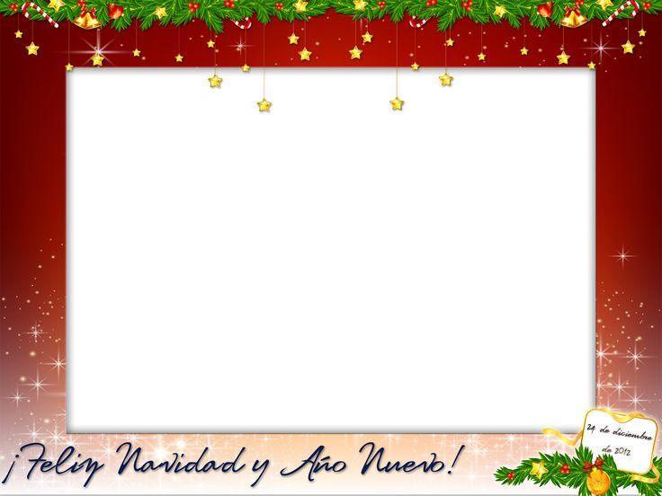 Marcos creativos para tus fotos  Marco para esta Navidad