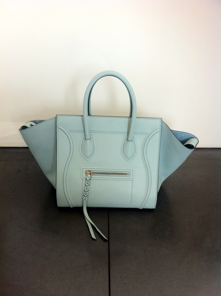 Celine Tiffany Blue Phantom | hide your credit cards | Pinterest ...