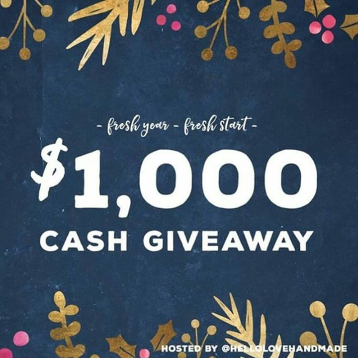 Happy New Year! We have teamed up with some handmade businesses to offer a $1000 cash giveaway!   Head to instagram and see the post and comp details there TWD Instsgram account is @the_woven_dream  #handmadewithlove #hellolovehandmade #handmade #giveaway #loopgiveaway #giveawaytime #summergiveaway #cashgiveaway #cash #makersgunnamake #lovelysquares #ilovehandmade
