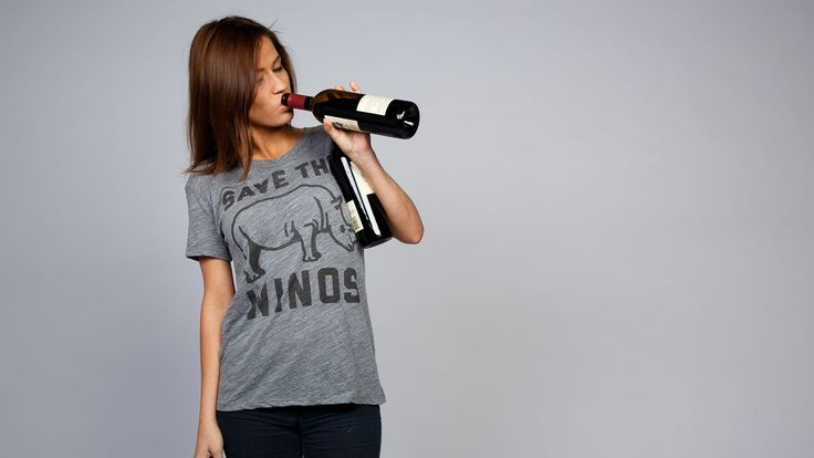 Here at the Chivery Wildlife Reserve, we've partnered with Buy Me Brunch to bring you this important public service announcement: There are a lot of winos in the wild. But Rhinos? Not so much. Both need saving.That's why we're encouraging you winos to buy this shirt so we can donate a portion of proceeds to rhino (not wino) conservation at the International Rhino Fund. It's win-win: The rhinos get saved from extinction; the winos get saved from shirtlessness.Yep. Turns out, yo...
