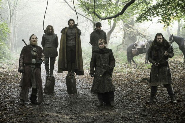 Brotherhood without Banners  Beric Dondarrion Official Game of Thrones Season 6 Ep 8 No One
