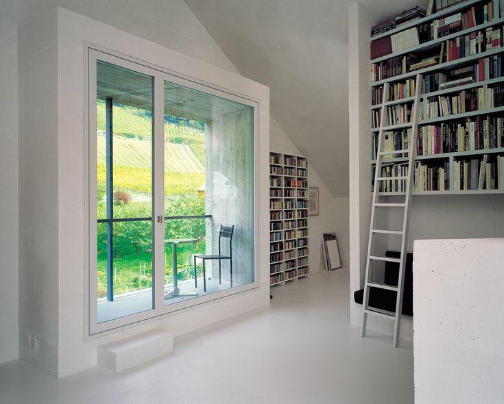 Bearth & Deplazes /// Wohnhaus Meuli /// Fläsch, CH /// 2001
