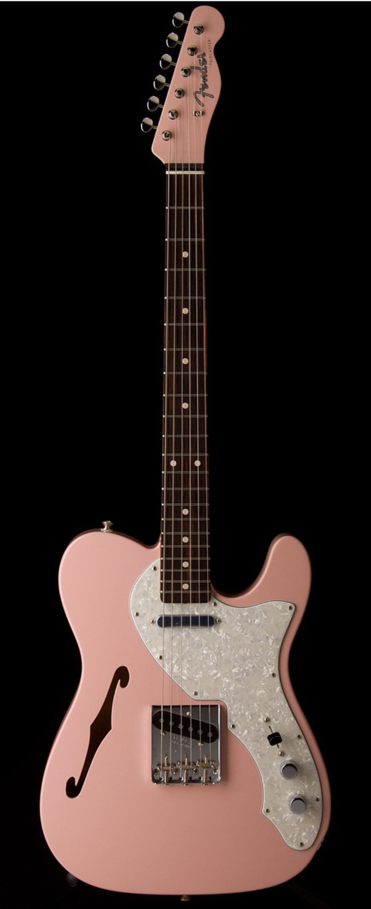 FENDER Master Built 1960 Thinline Telecaster  Shell Pink by Yuriy Shishkov | Guitar Center
