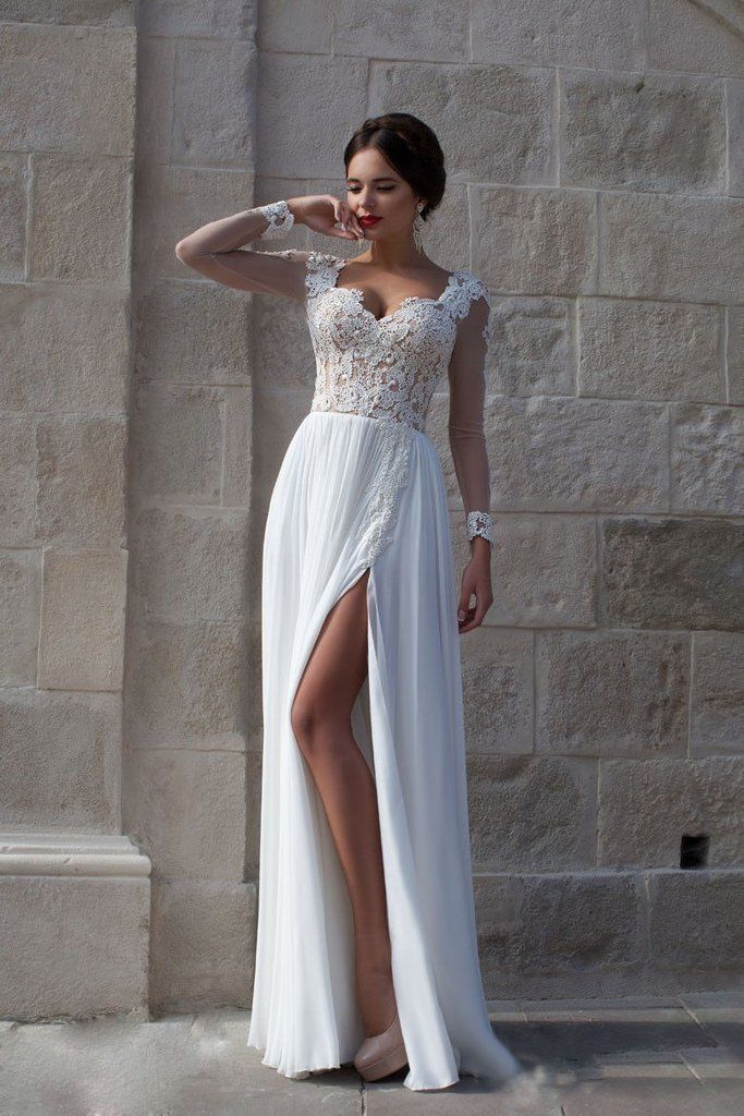Beach Wedding Dresses Bohemian Wedding Dress Boho Wedding Dress