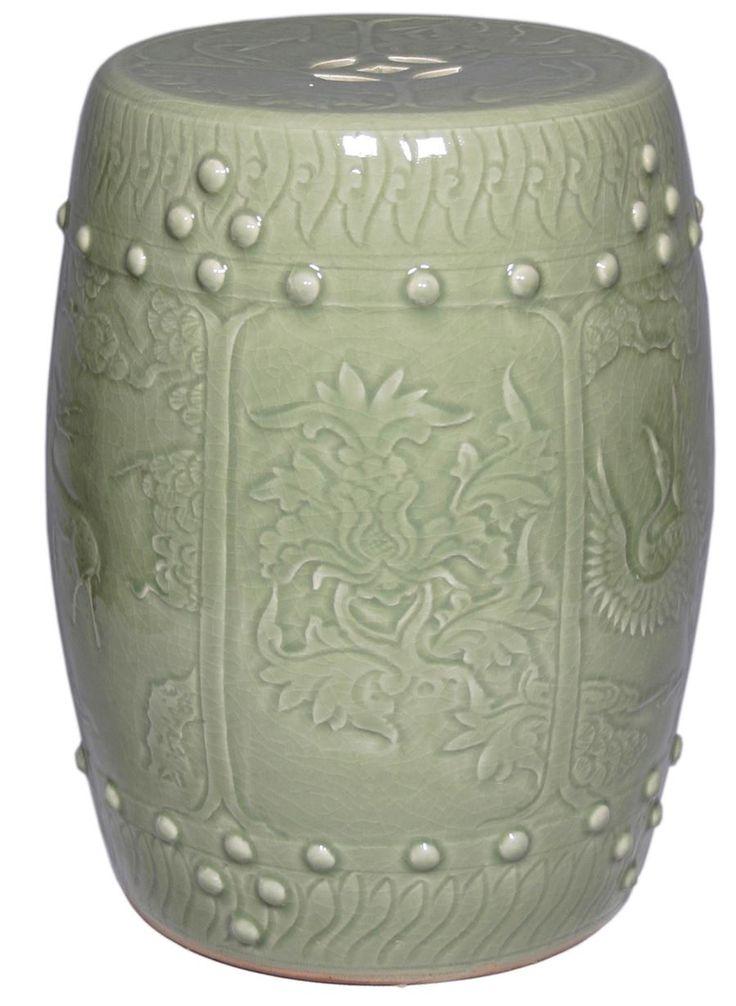 360 best Ceramic Garden Stools images on Pinterest | Ceramic garden ...