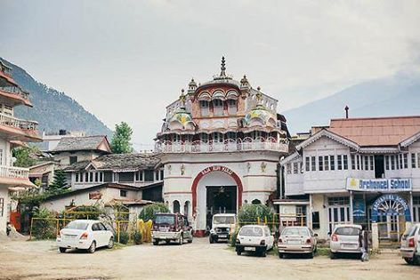 Sultanpur Palace #Himachal_Pradesh, aka Rupi Palace famous for attractive miniature paintings in #Kullu style!