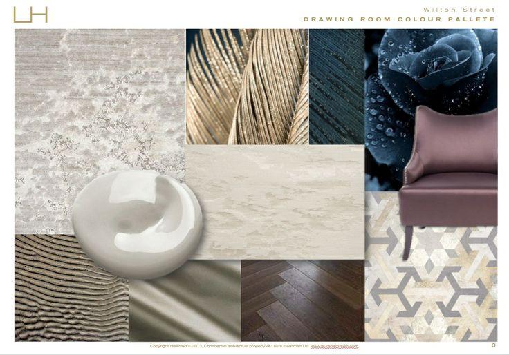 Laura Hammett - Belgravia drawing room concept