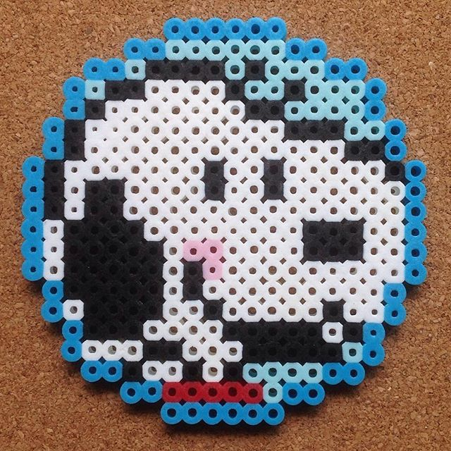 Snoopy perler beads by  tsubasa.yamashita