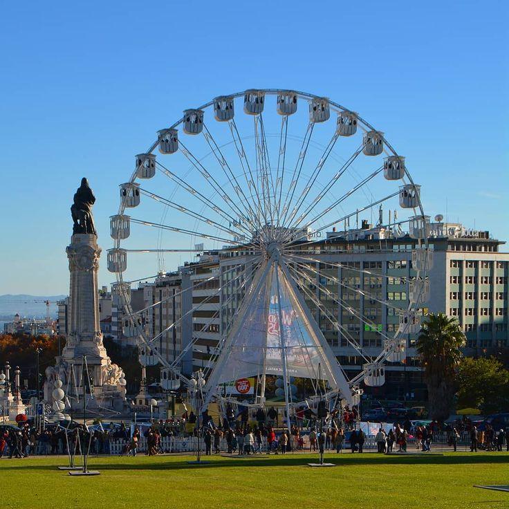 Wonderland Lisboa  #wonderlandlisboa #rodagigante #ferriswheel #ferriswheelfun #ferriswheelphotography #ferriswheelpic #parqueeduardovii #marquesdepombal #natal #christmas #lisboa #lisbon #lisbonne #lissabon #lisbona #Лиссабон #里斯本 #リスボン #instalike #instalisboa #instalisbon #instatravel #instacool #instagood #welovelisbon #visitlisboa #visitlisbon #visitportugal #portugal #walkinginlisbon