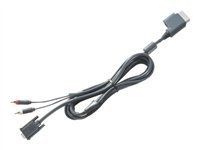 Xbox 360 VGA HD AV Cable - http://www.lowpricecables.com/video-game-cables/xbox-360-vga-hd-av-cable/