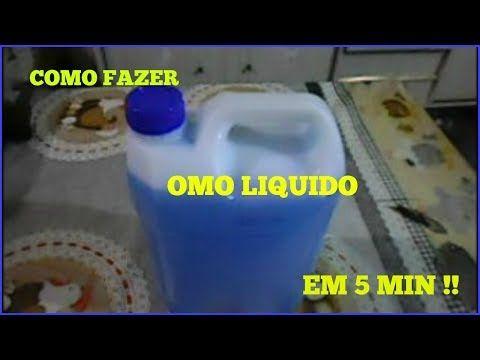 SABÃO AZUL (OMO CASEIRO) 16LTS com menos de R$5,00 - Super fácil e rápido de fazer - Fran Adorno - YouTube