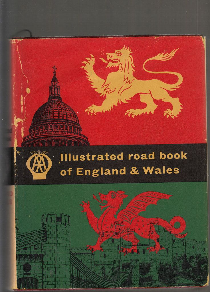 1962 Illustrated Road Book of England and Wales Sharp Maps The Illustrated Road   eBay