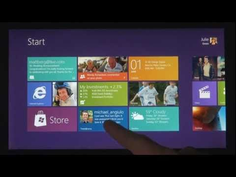 Windows 8, the future of Microsoft computing. Looking forward to beta release this February.