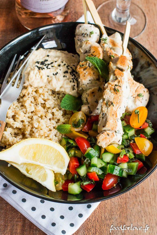 La nourriture libanaise est une cuisine dont je raffole. Je pourrais manger le houmous à la petite cuillère ... Si je n'avais cuisiné ce plat que pour moi,