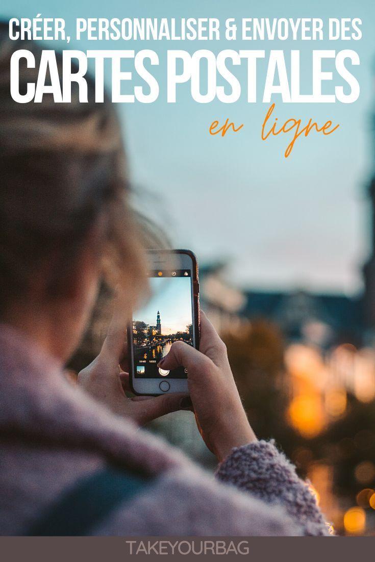 Envoyer des cartes postales en ligne avec MyPostcard - Take Your Bag | Carte postale, Cartes ...