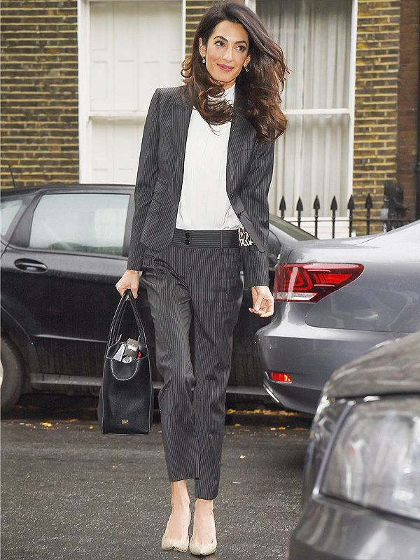 Amal Clooney at the press conference for former president Mohamed Nasheed 05.10.2015