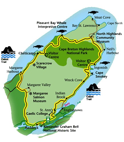 Cycled the Cabot Trail, Nova Scotia