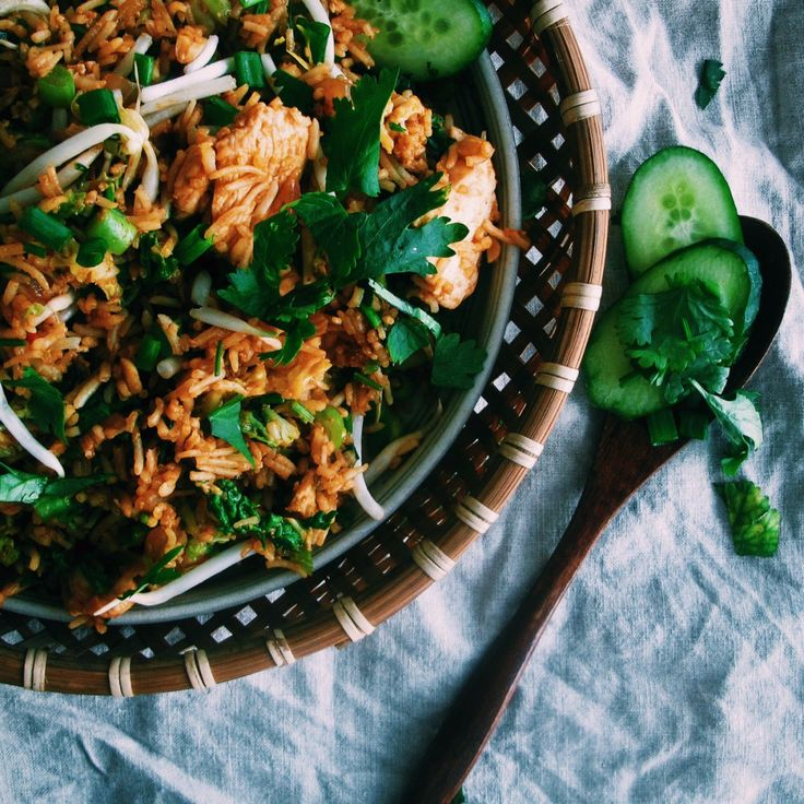 Malaysian Nasi Goreng - chicken fried rice